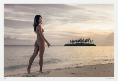 Fine Art Nude Photography - Woman, beach, island