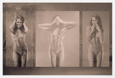 Sepia-toned nudes. Limited edition