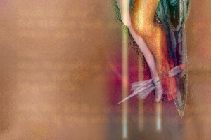 limited edition photograph surreal expressionistic art nude