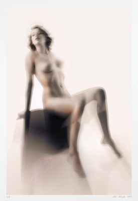 fine art nude archival photography limited edition seated woman